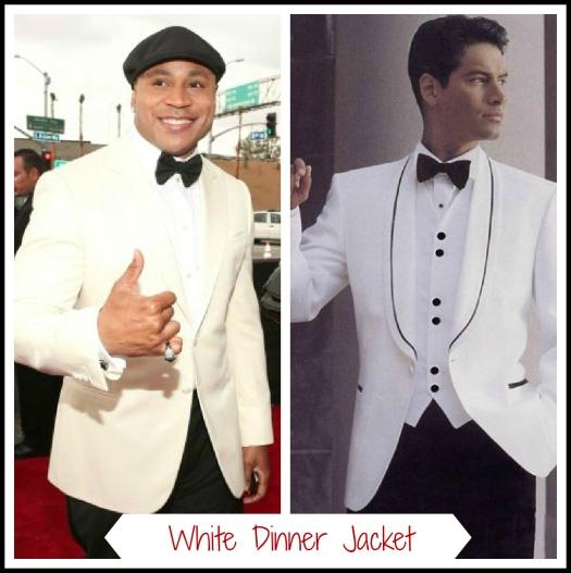 White & Black Tux