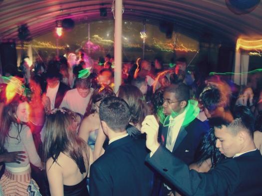 dance floor glow