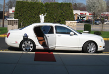 exclusive limo bentley